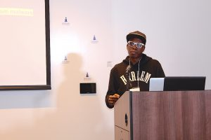 Hacker Matt Mitchell, founder of Crypto Harlem gave tips on how to protect your privacy.